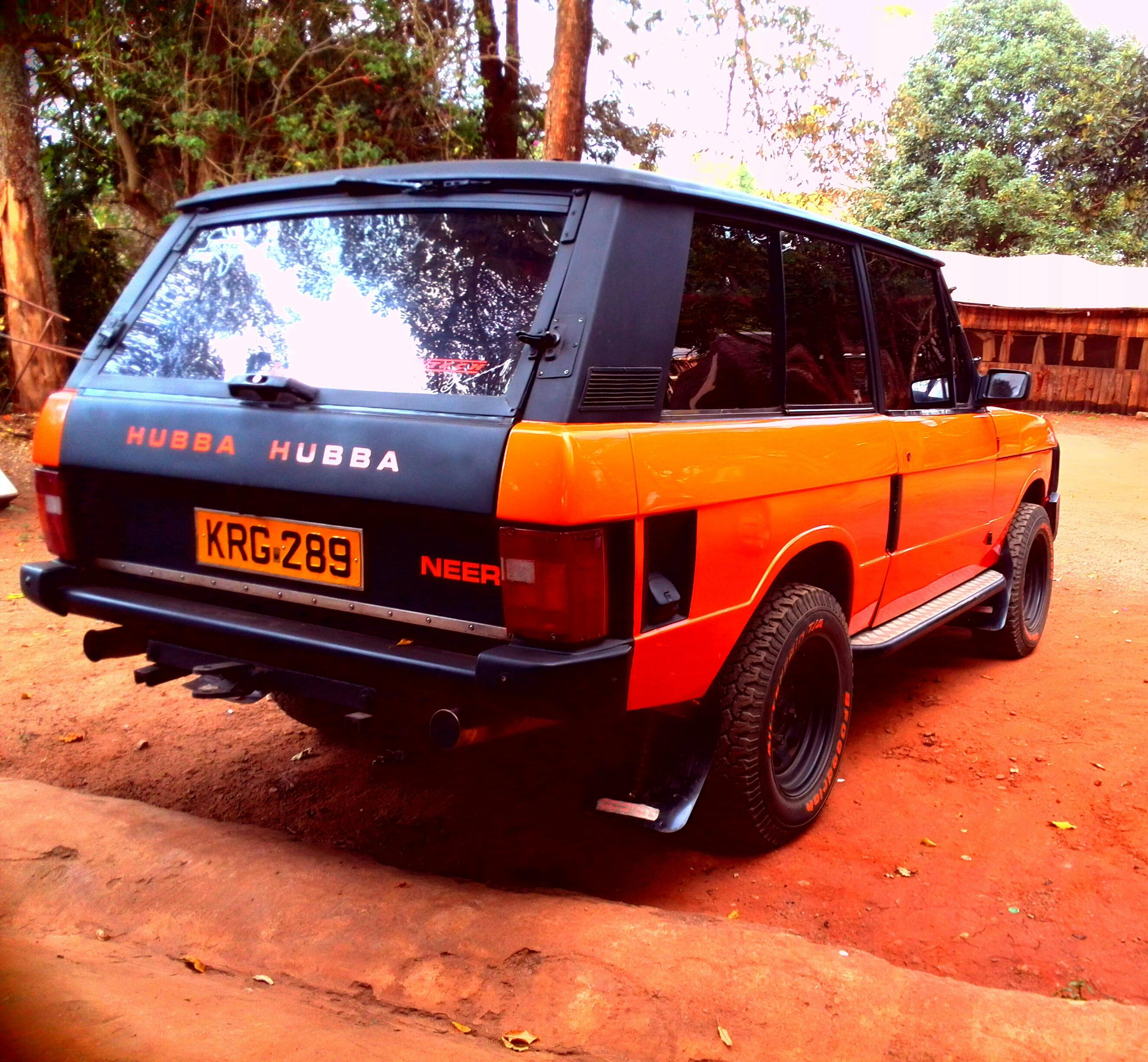 Green to Orange rebuild of the Classic Range Rover – Neer